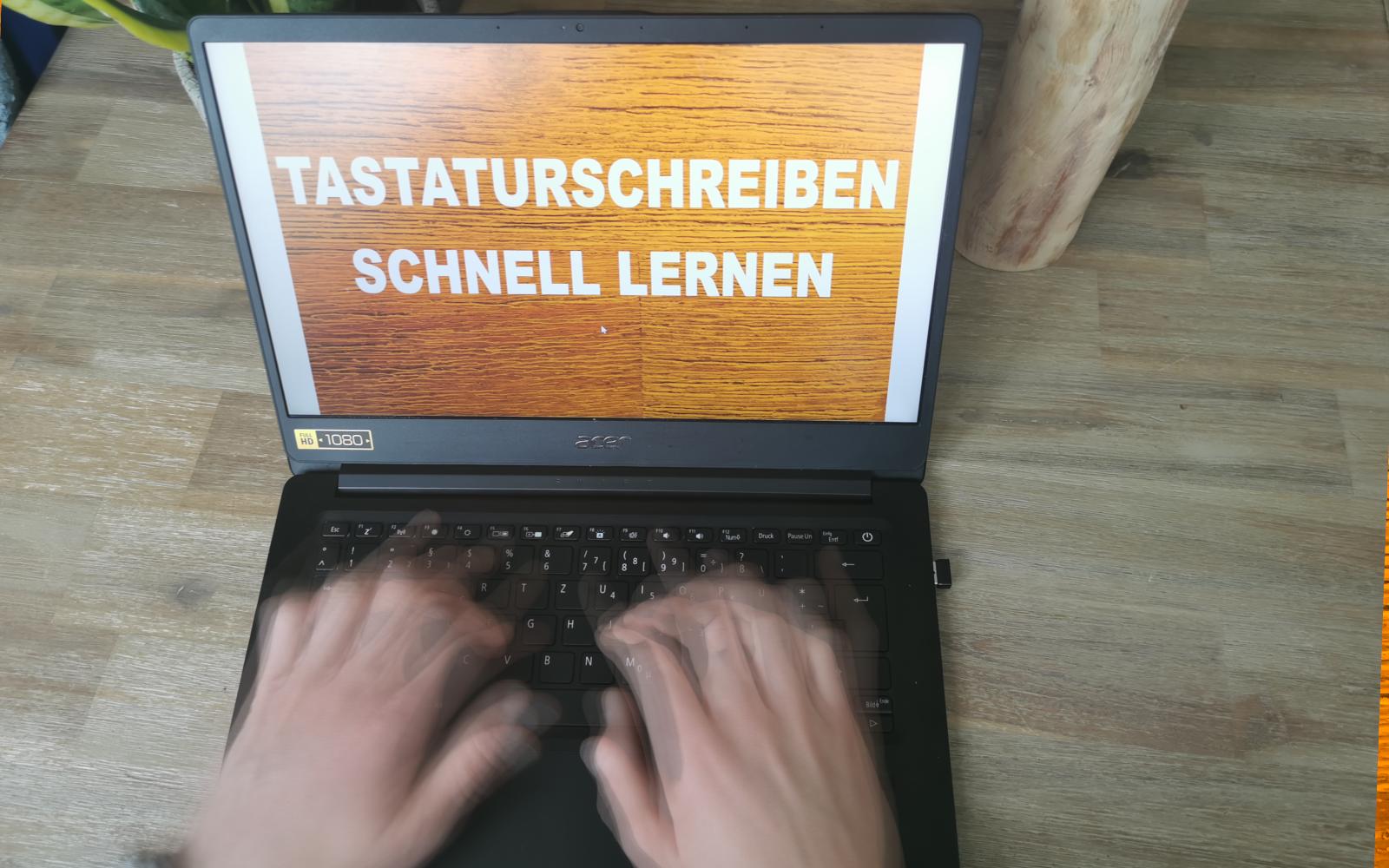 Tastaturschreiben lernen