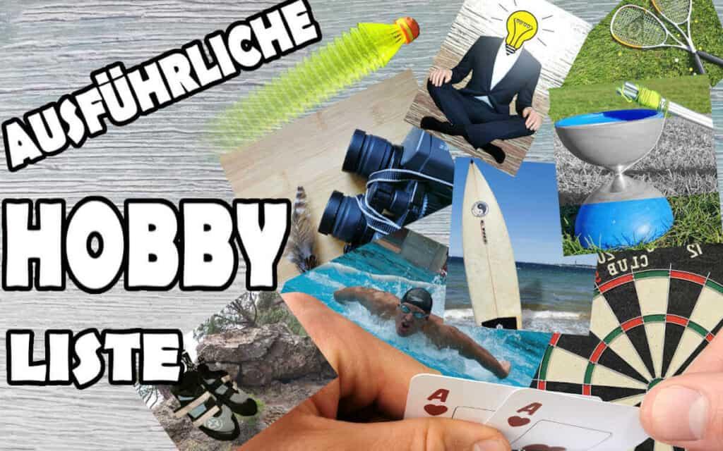 Hobby Liste